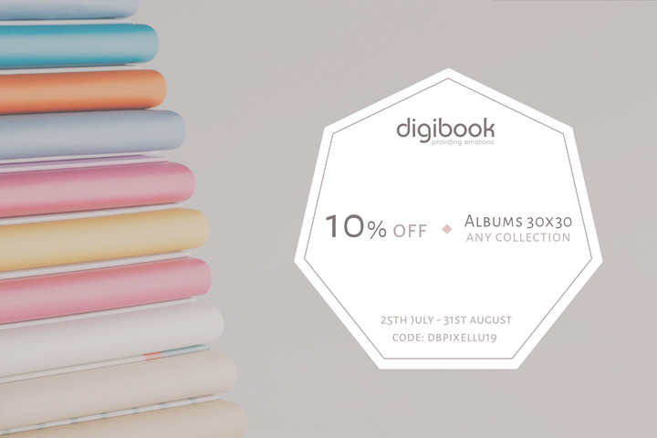 10% Off 30x30 Photo Albums with Digibooks and SmartAlbums 2019