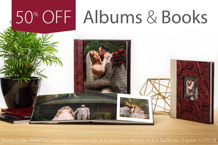 50% Off Sample Photo Album with Bay Photo and SmartAlbums 2019