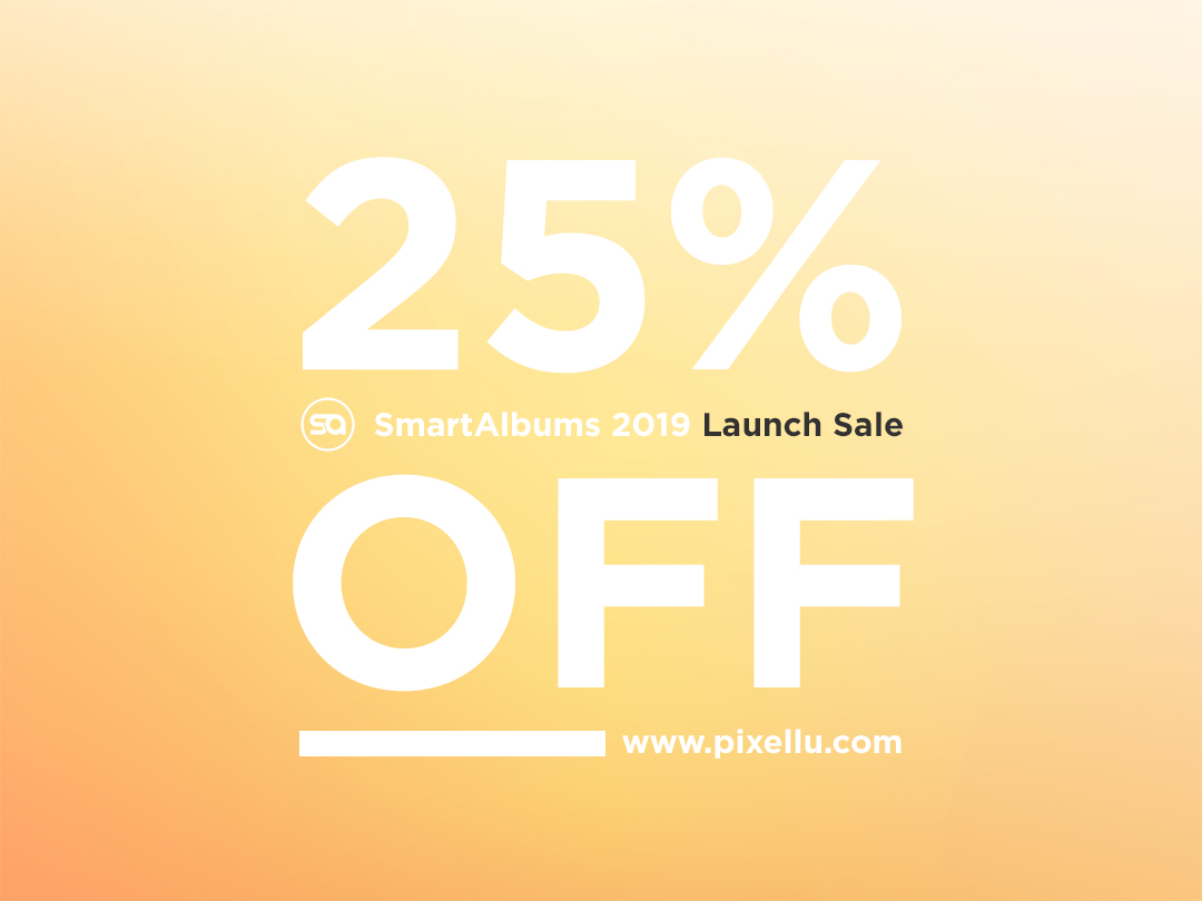 SmartAlbums 2019 Launch Sale